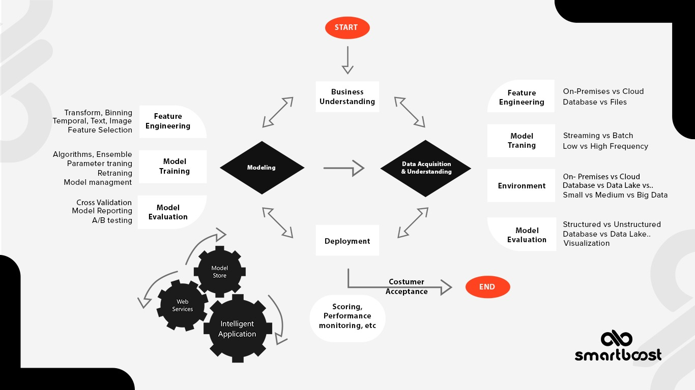 Data science services process