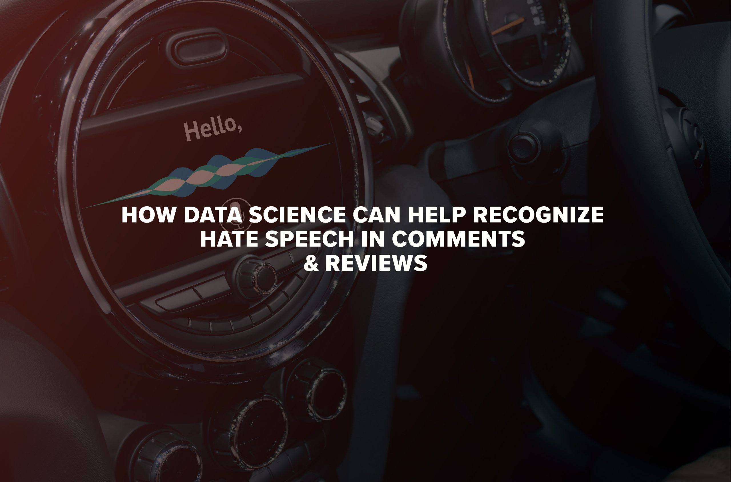 How Data Science Can Help Recognize Hate Speech in Comments & Reviews