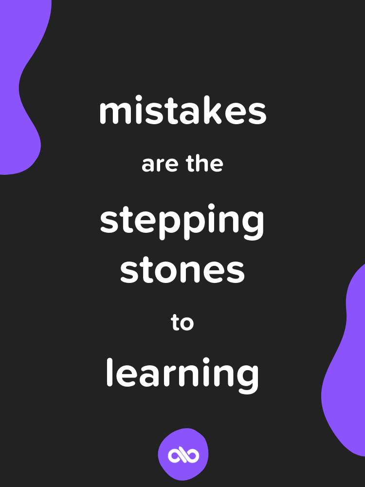 Quote about mistakes