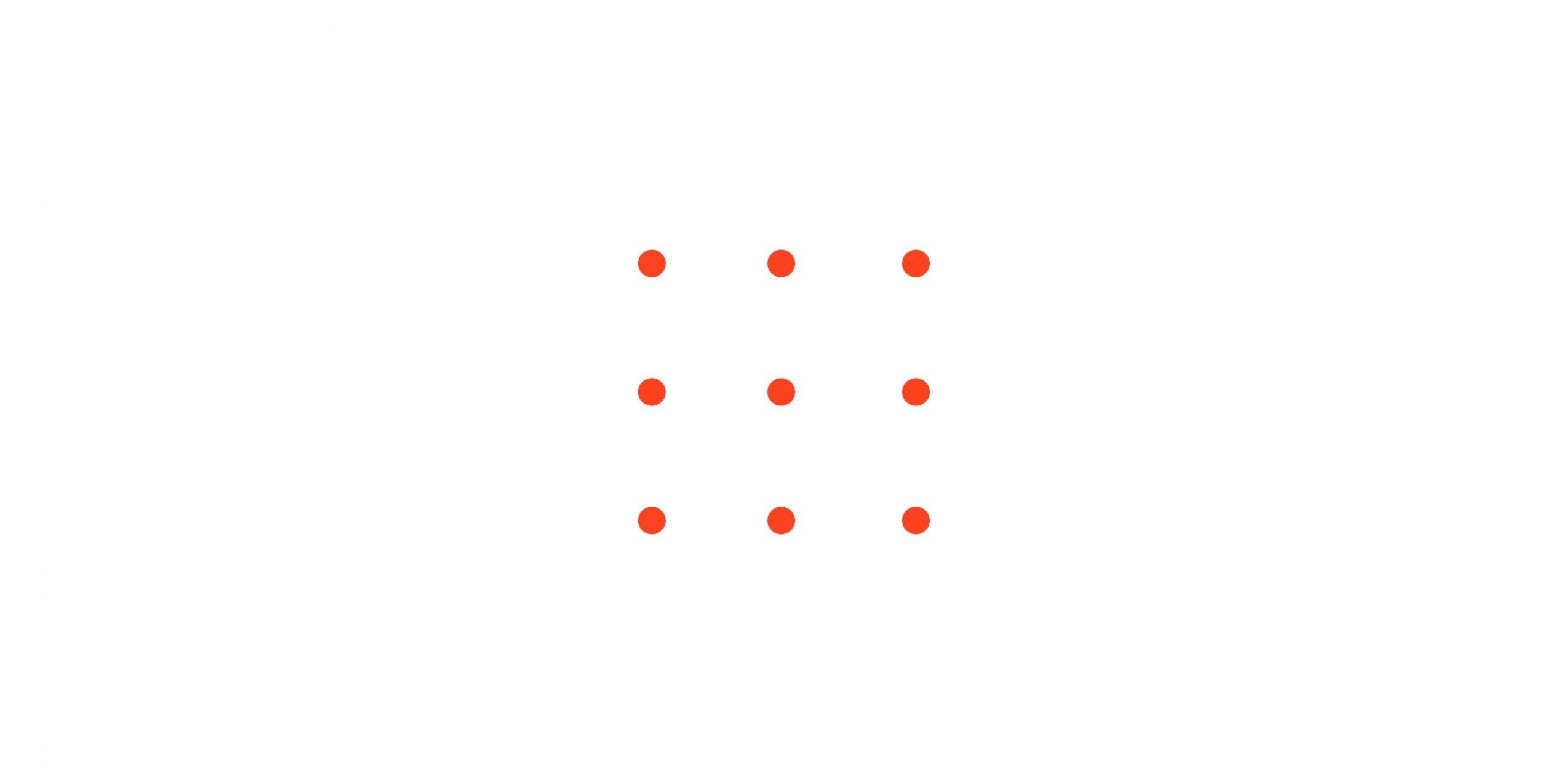 Nine dots creativity problem