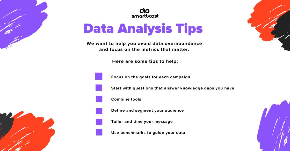 Email marketing data analysis tips