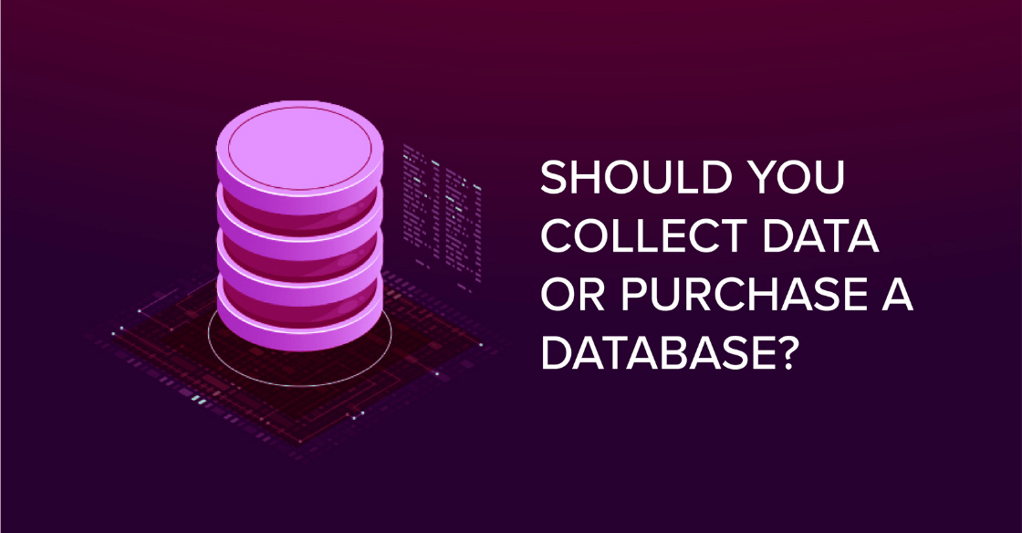Should You Collect Data or Purchase a Large Database?